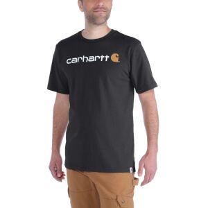 Carhartt Core Logo T-Shirt - Black - X-Large