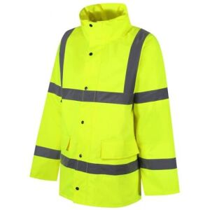Class 3 Site Jacket - Reflective Yellow - Large