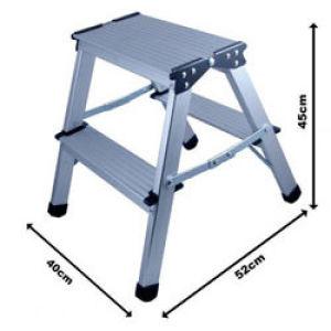 Rodo Aluminium Step Up 2 Steps En131