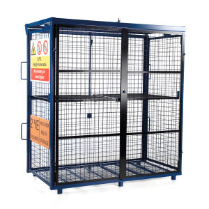 Van Vault Fold-Away GAS Cage S10360