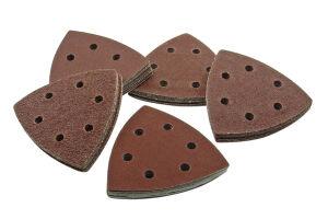 Smart HS93MIX50 - 93mm - Mixed Grit Triangular Sanding Sheets - Pack of 50