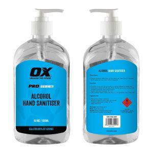 OX Tools - Hand Sanitiser - 500ml