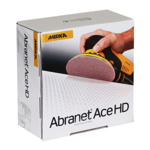 Abranet Ace Heavy Duty 150mm P40 Velour Disc (Box 25)