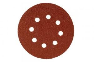 Mirka Abrasive Disc - Red 125mm Grip 8H - P80