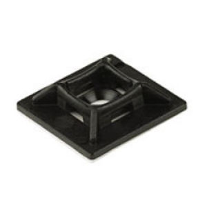 NB12 20 x 20 Adhesive Base Black (Pack Of 100)