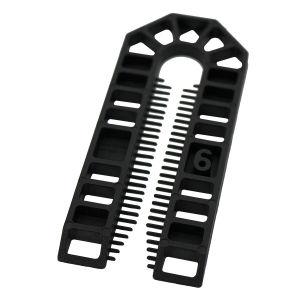 Broadfix Standard U Shim (101 x 43mm) Black - 6mm - Bag of 200