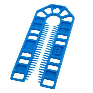 Broadfix Standard U Shim (101 x 43mm) Blue - 3mm - Bag of 200