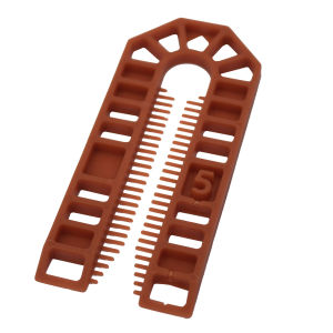 Broadfix Standard U Shim (101 x 43mm) Brown - 5mm - Bag of 200
