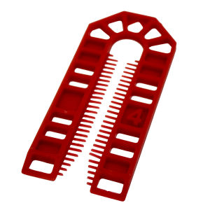 Broadfix Standard U Shim (101 x 43mm) Red - 4mm - Bag of 200