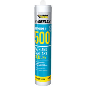 Bath and Sanitary Silicone 500 - 310ml Clear