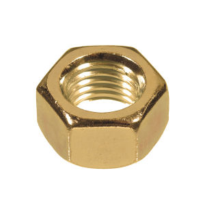 M12   Brass Hex Full Nuts (Sold Individually)