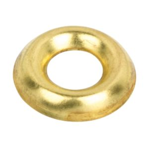 9-10  Brass Surface Screw Cups (Box Of 500)