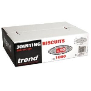 Trend BSC/10/1000 - No 10 Compressed Beech Biscuits - 1000 Pack