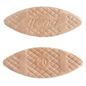 Trend BSC/20/100 - No 20 Compressed Beech Biscuits - 100 Pack