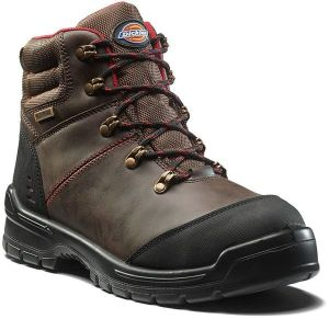 Dickies Cameron Safety Boot - Brown - Size 9