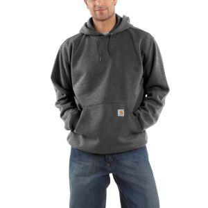 Carhartt Hooded Sweatshirt - Carbon Heather - X-Small