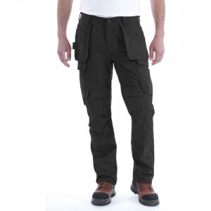 Carhartt Steel Multipocket Trousers - Black - W36/L32