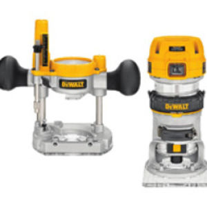 "DeWalt D26204K 1/4"" Combination Router 240V"