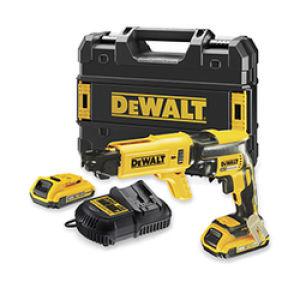 DeWalt DCF620D2K 18V Drywall Screwdriver - 2 x 2.0Ah Batteries