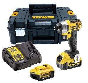 DeWalt DCF885M2 18V XR Li-Ion Compact Impact Driver + 2 Batteries, Charger & Case
