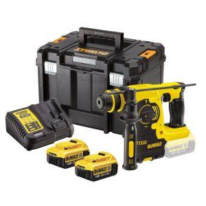DeWalt DCH253M2 18V XR Cordless SDS+ Hammer Drill Inc 2 x 4.0Ah Batteries
