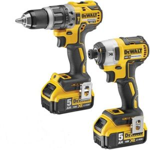 DeWalt DCK266P2 XR 18V Brushless Combi/Impact Kit - 2 x 5.0Ah Batteries