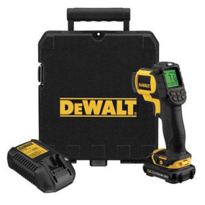 DeWalt DCT414D1 10.8V Infrared Thermometer - 1 x 2.0Ah Battery