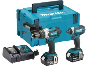 Makita DLX2145TJ 18V LXT 2 Piece Kit 2 x 5.0 Batteries