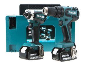 Makita DLX2173TJ 18V Combo Kit - Combi Drill and Impact Driver 2 x 5.0Ah LXT Batteries