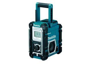 Makita DMR108 Job Site Radio Blue 7.2V-18V With Bluetooth