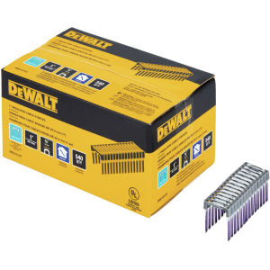 DeWalt DRS18100-XJ 25mm x 17mm Insulated Crown Staples for DCN701 (Box of 540)
