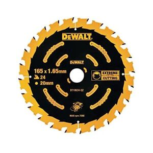 DeWalt Extreme 2nd Fix Circular Saw Blade 165mm x 20mm Bore x 24T