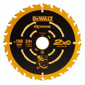 DeWalt DT10640-QZ Extreme Framing Circular Saw Blade 165mm x 20mm Bore x 40T