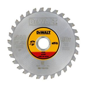 DeWalt DT1923-QZ 140mm x 20mm 30T Steel Circular Saw Blade