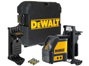 DeWalt DW088K Cross Line Laser Level Kit + Wall Bracket