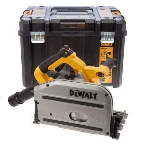 DeWalt DWS520KT Plunge Saw 165mm Blade in T-Stak Kit Box 240V