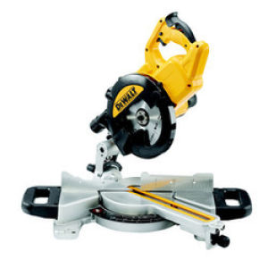 DeWalt DWS774 216mm Mitre Saw With XPS 110V