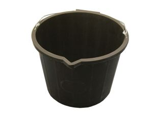 3 Gallon - 14 Litre Bucket - Black