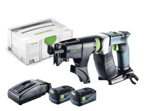 Festool 18V Screwgun DWC18- 4500 Li5.2-Plus 2 x 5.2Ah Batteries & Systainer 2