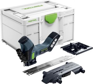 Festool 577058 Cordless Insulating Material Saw ISC 240 EB-Basic c/w FOC Battery Pack