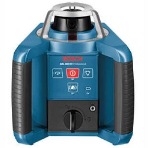 Bosch GRL 300 HV Rotatation Laser inc LR1, Mount, Remote, Rod & Tripod