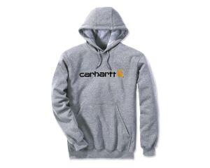 Carhartt Signature Logo Sweatshirt - Heather Grey - Large