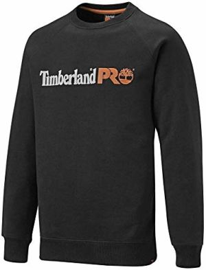 Timberland Pro - Men's Honcho Sport Sweatshirt - Black/Orange - Large