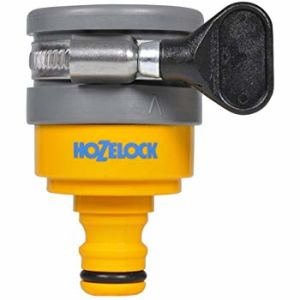 Hozelock 2177 Round Mixer Tap Connector - Max 24mm Diameter