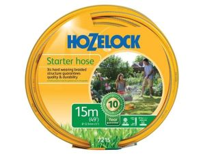 Hozelock 7215 Starter Hose 15m - 12.5mm (1/2in) Diameter