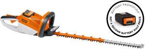 Stihl HSA86P Cordless Hedge Trimmer Promotional Set Inc 2 x AP 200 Batteries & 1 x AL 300 Charger