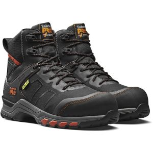Timberland Pro Hypercharge Textile Boot Black/Orange - Size 8