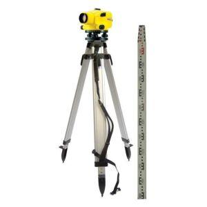 Leica Jogger 24 Automatic Level Kit c/w Staff & Tripod