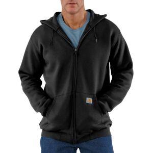 Carhartt Zip Hooded Sweatshirt - Black - X-Small