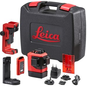 Leica L6R-1 Red Line Laser c/w Li-Ion Batteries in Robust Case